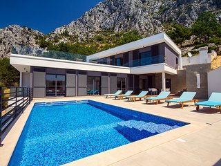 New! Modern & very luxury villa Kanunel with amazing panoramic sea views!