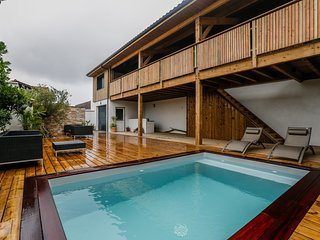 Villa Oceana 50 m de la plage les pieds dans l'eau