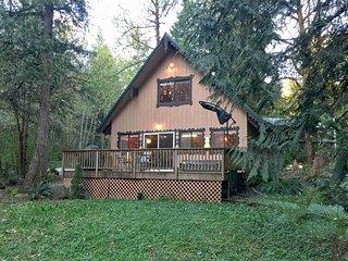 Mt. Baker Lodging – Cabin #22 – HOT TUB, BBQ, WIFI, PETS OK, SLEEPS-8!