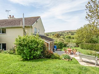 CLAMPITTS, peaceful Dartmoor cottage with wood burning stove and countryside vie