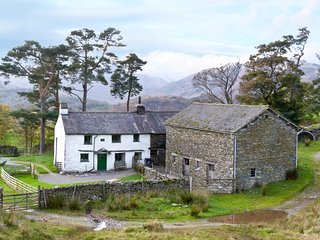 LOW ARNSIDE, 17th century with woodburner and beams, near Coniston