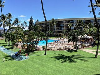 Special!  Maui Sunset 220B ~ 2 BR, 2 BA, Full Kitchen, Ocean View Condo!