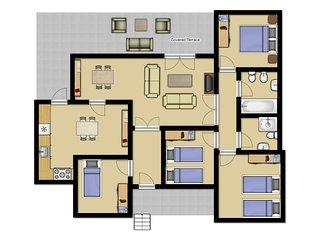 7 bedroom Villa in Cala Galdana, Balearic Islands, Spain : ref 5334338