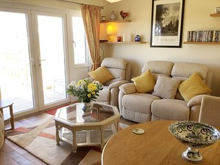 St Merryn Holiday Park holiday cottage near Padstow, beaches and clifftop walks
