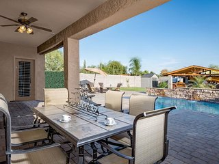 Gorgeous home w/ outdoor ramada, private pool & putting green!