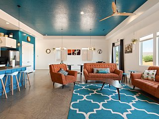 Juniper is one of a kind Vacation Rental near St George, Zion and Sand Hollow.