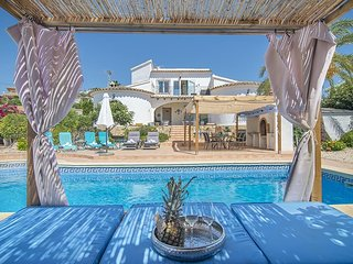 3 bedroom Villa in Moraira, Valencia, Spain : ref 5433615