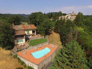 4 bedroom Villa in Cavriglia, Tuscany, Italy : ref 5447484