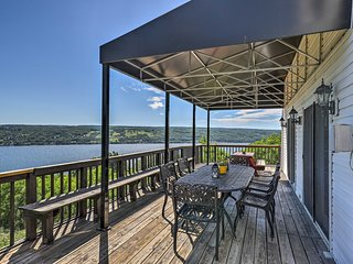 NEW! Lovely Finger Lakes Home w/Lake Views & Deck!