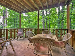 NEW! Mountain Air Condo w/ Deck & Forest Views!