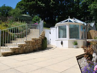 The Lodge, Polgooth, St Austell - luxury self catering holiday home