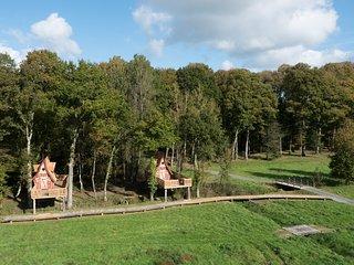 Les Cabanes de Lutins du Domaine des Hayes - 4 personnes