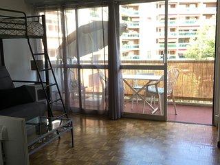 Centre ville - Studio / T1 avec terrasse au calme et ensoleille