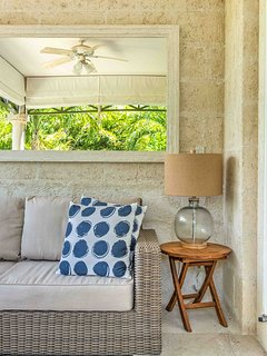 inviting and relaxing seating area