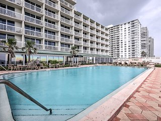 NEW! Beachfront Daytona Beach Condo w/Pools & More