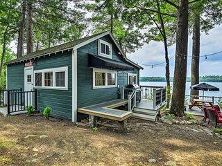 Cozy Winthrop Cottage on Maranacook Lake w/ Dock!