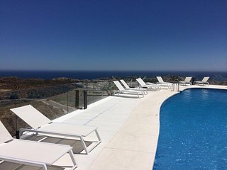 Phenomenal views from sun terraces ,new third pool, sauna , gym and jacuzzi