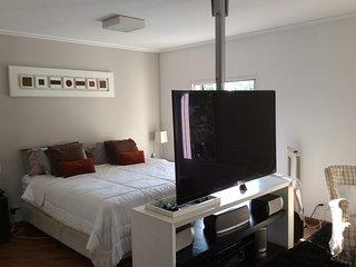 Apartamento Aconchegante Zona Sul 1 por andar ,4 suítes,2 salas,218 metros.