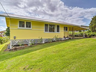 NEW! Airy Hilo Home - 8 Mins to Downtown & Beach!