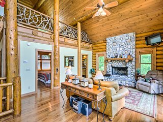 NEW! Topton Cabin w/ Hot Tub, 2 Decks & Lake Views