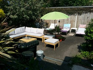 Private Garden Area for Guests