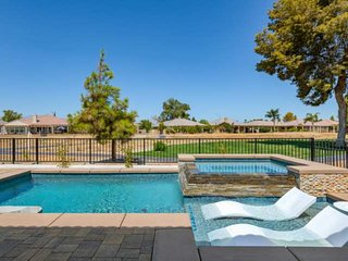 Indian Palms Retreat! - Near Music Festival, Saltwater Pool & Spa, Gas Fireplace