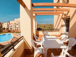 My Sunny Apt Isla Canela - Lujoso apartamento en urbanización con piscina - B13
