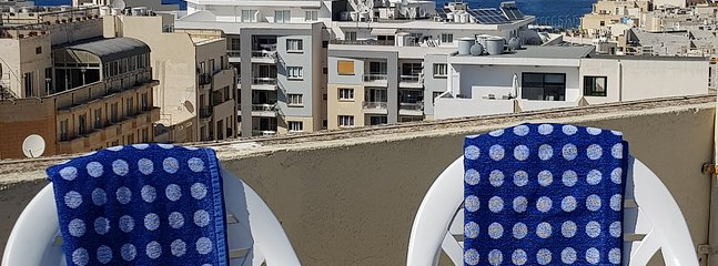 Use of roof for sunbathing and lunch. Indulge yourself for Malta's amazing sea views!