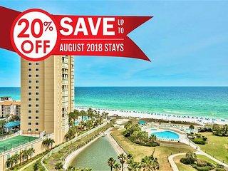 20% OFF Aug! GULF VIEW *Beach Resort, Pool/Spa, FREE Beach Service &VIP Perks