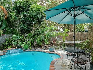 Historic Tropical and Eclectic Vacation Home With Pool, Grill, Sleeps 10
