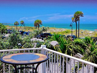 Beach Club Vacation Rentals Pass-A-Grille Gulf Front Luxury Condo for 6