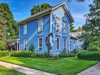 'Pentwater Blue' Cottage 4 Blocks from Beach!