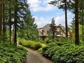English Tudor Home on 5 acres on South Whidbey. 3 bed, 2.5 bath.