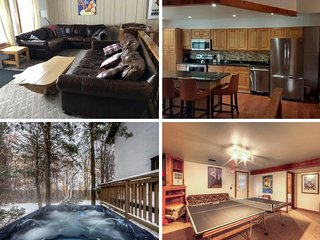 Amazing 8 Bed chalet with hot tub and sauna