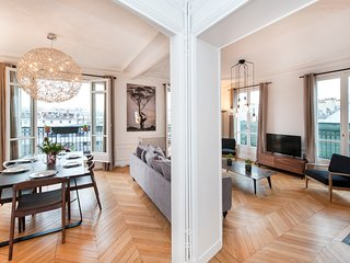 Brand new 3 BR in St-Germain with rooftop view - Facing Marche St-Germain