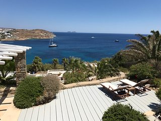 Amazing 2 bdrm Villa - breathtaking sea view-Mykonos