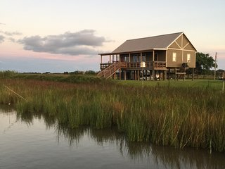 Lower Hog Bayou Lodge- Near - Louisiana Rockefeller Refuge - Creole Nature Trail