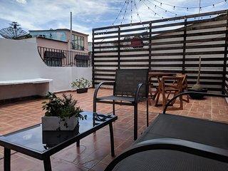 Single Bed in Shared Bedroom at Casa La Terraza