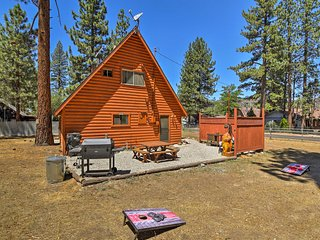 NEW! Updated Big Bear 'Fairway Pines' Cabin w/Yard