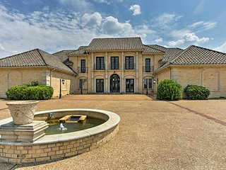 NEW! Denison Mansion on 124 Acres w/ Indoor Pool!