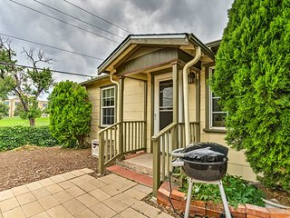 NEW! Cozy House 1 Mile From DT Colorado Springs!