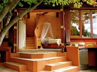 The Cabana offers a little peace of private paradise - a truly romantic spot