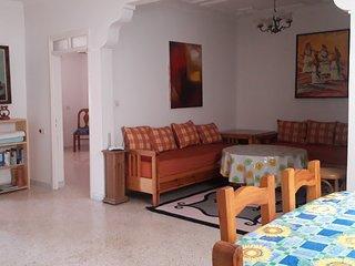 appartement  meubler 3 chambre pour 5 personne