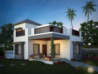 2 BHK villa  with splashpool ,gir.