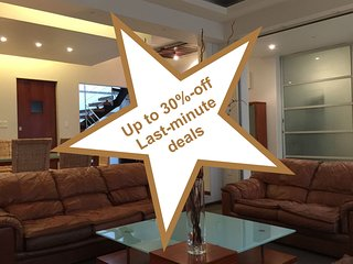 Spacious 6BR house, families & work groups, up to 30% off last-minute deals