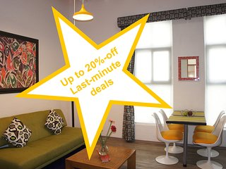 Fantastic Suite, ideal 4 couples, near the WTC, up to 20%-off last-minute deals