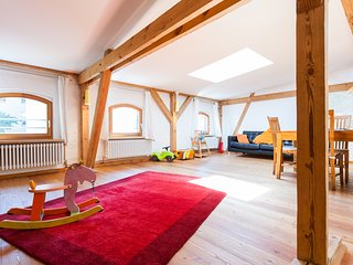 Stable Hayloft Vacation Rental in Berlin