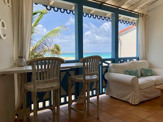 OPEN ! Cote Reve, gorgeous 1 bedroom, ocean front, 1st line