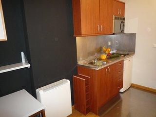 Apartamento de uso individual o doble