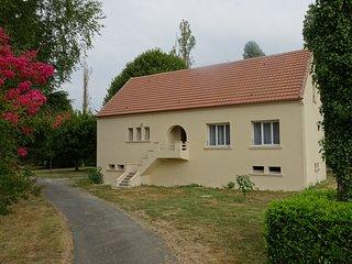 Maison au bord de la Dordogne